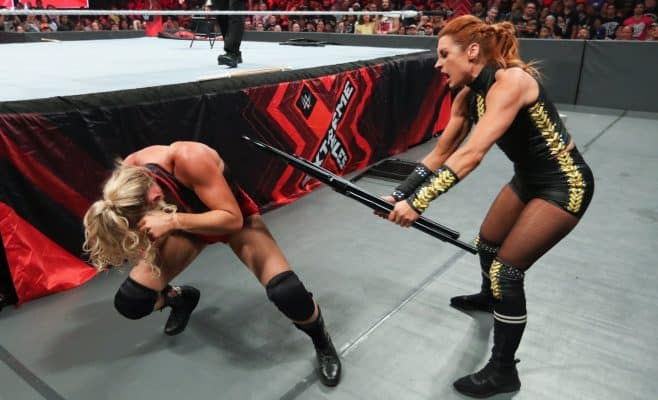 Extreme Rules 2019: Lacey Evans and Becky Lynch