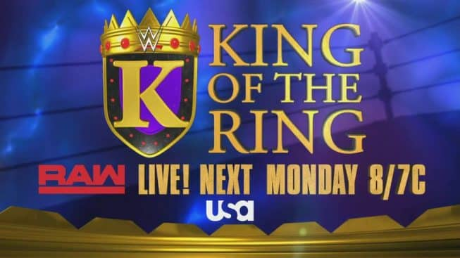 King of the Ring advert