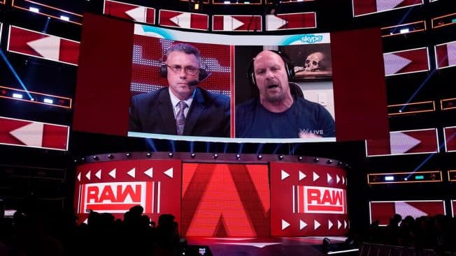 Michael Cole and Steve Austin chat on Skype