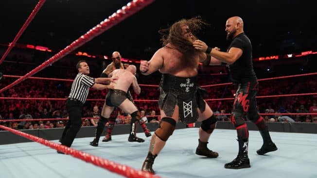 The Viking Raiders and The OC brawl to a DQ