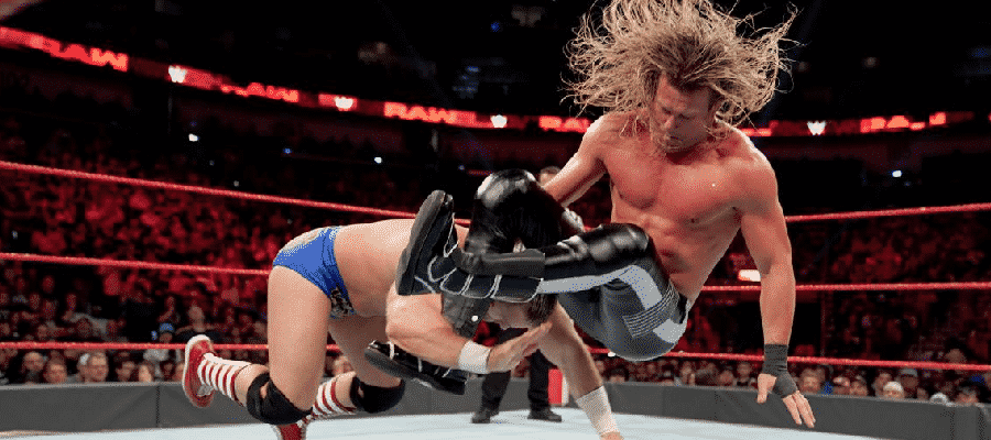 Dolph Ziggler takes down Dash Wilder