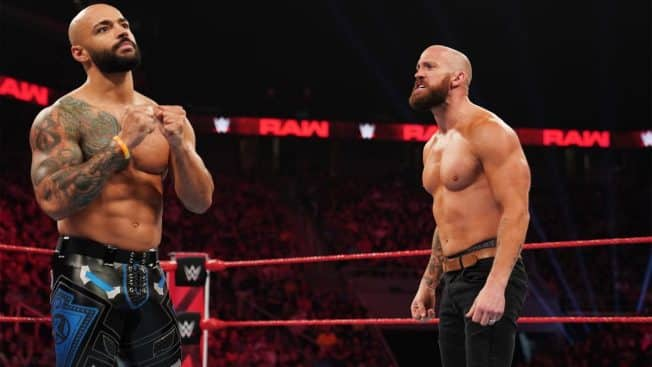 Mike Kanellis and Ricochet