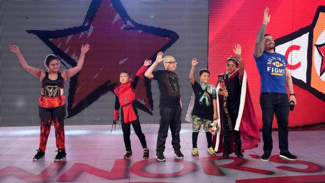 Roman Reigns and the Connors Cure Superstars of tomorrow