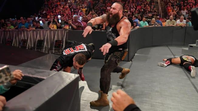 Braun Strowman destroys The Revival