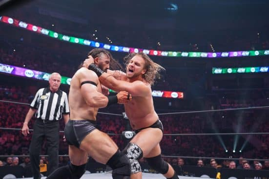 Hangman Adam Page furiously strikes Pac