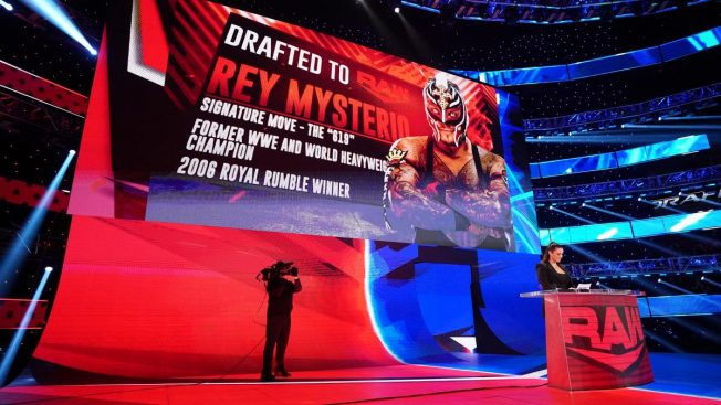 Rey Mysterio is drafted to RAW