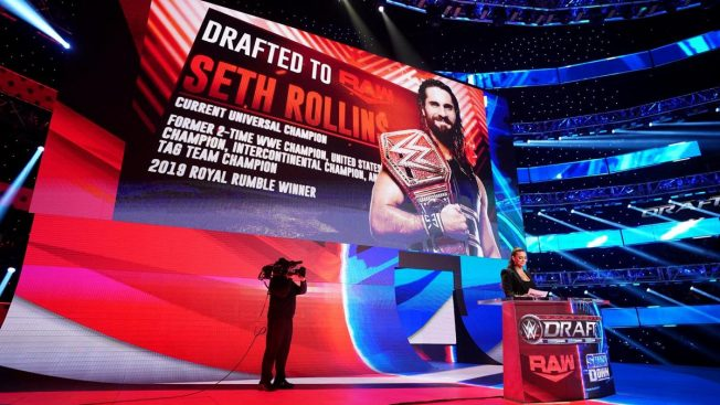 Seth Rollins is drafted to RAW