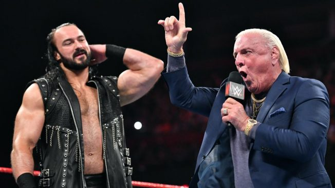 Ric Flair and Drew McIntyre