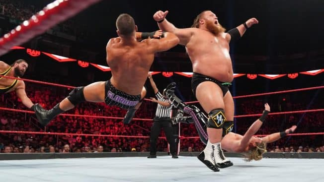 Otis takes down Roode and Ziggler