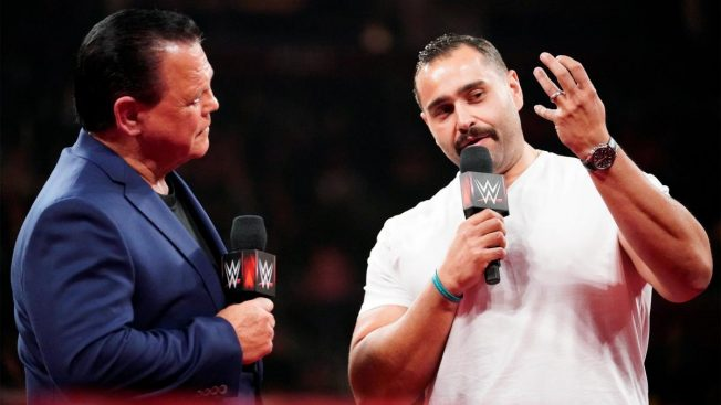 Jerry Lawler and Rusev