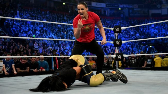 Baszler blindsides one of her opponents for Survivor Series