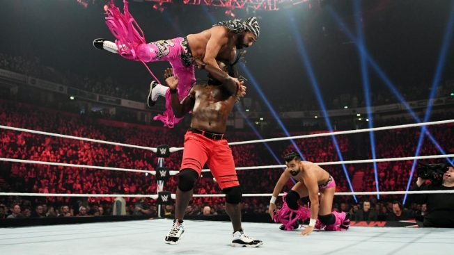 R-Truth fights off The Singh Brothers