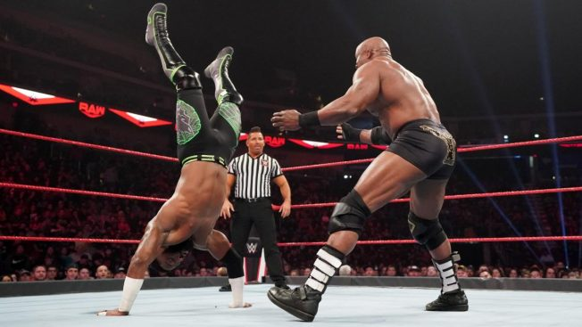 Bobby Lashley and Cedric Alexander
