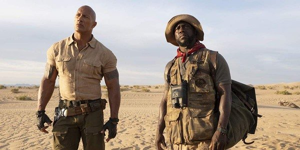 Hart and Johnson Jumanji 3