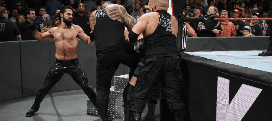 Seth Rollins and AOP attack Big Show